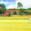 Another commission to paint Bradenham Manor