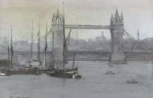 Tower Bridge from Bermondsey