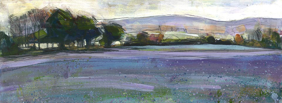 Linseed at Emmington – Acrylic